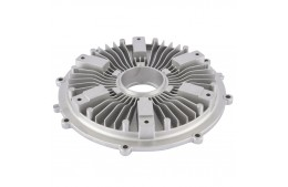 High Pressure Die Casting Service for Heat Sink Aluminum Part in High Precision