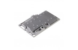 Pressure Die Casting Service for Zinc Alloy Part Heat Sink