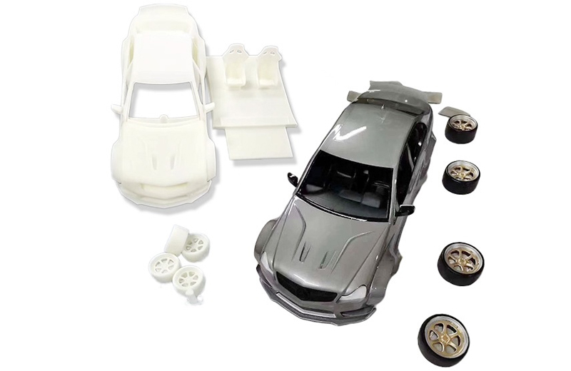 Customize 3D Printing ABS-Liked Rapid Prototype Model Resin Plastic Car