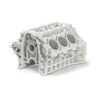 3D Printing Service for Strenghten Plastic Parts Engine Housing Model